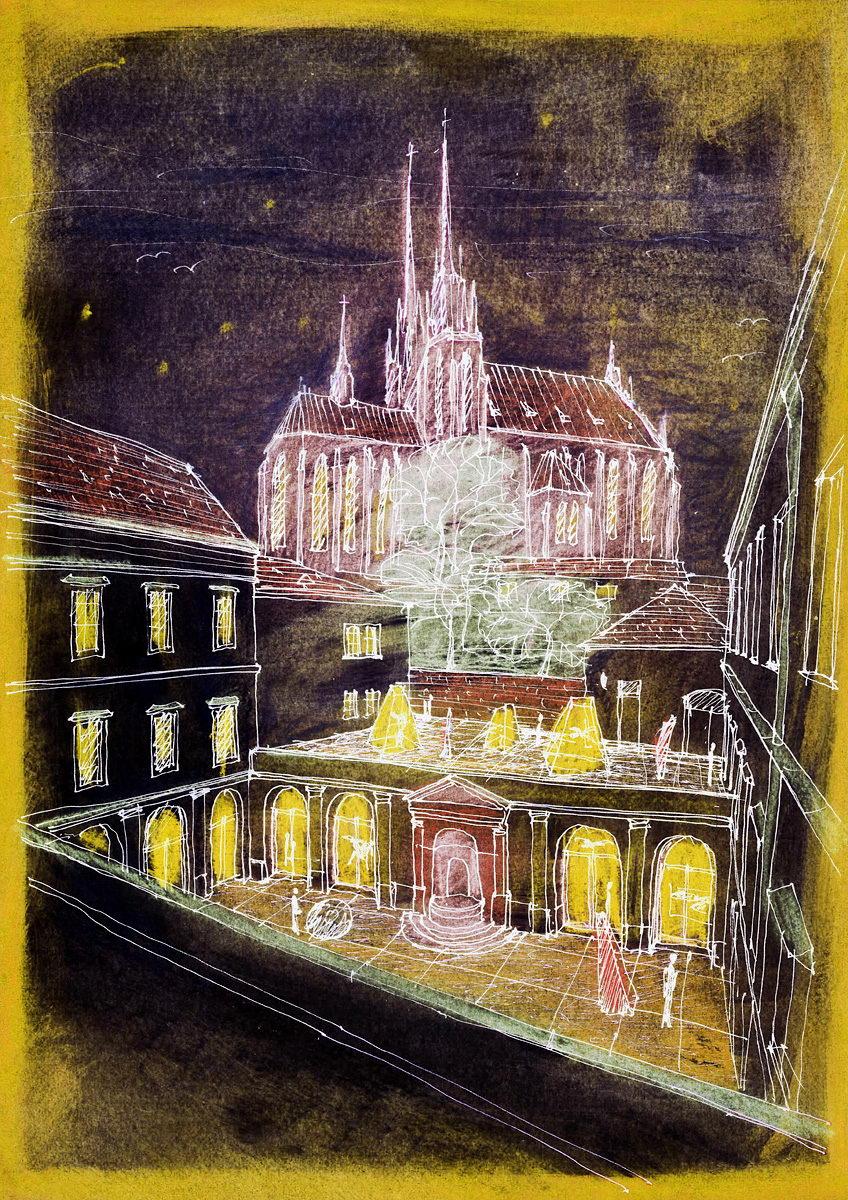 rekonstrukce Biskupského dvora | Brno | 02