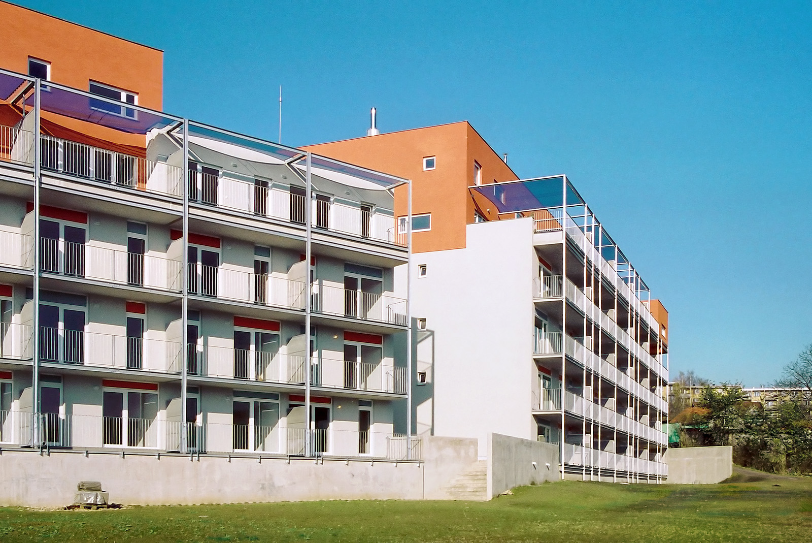 bytové domy - Farská zahrada | Brno - Komín | 01
