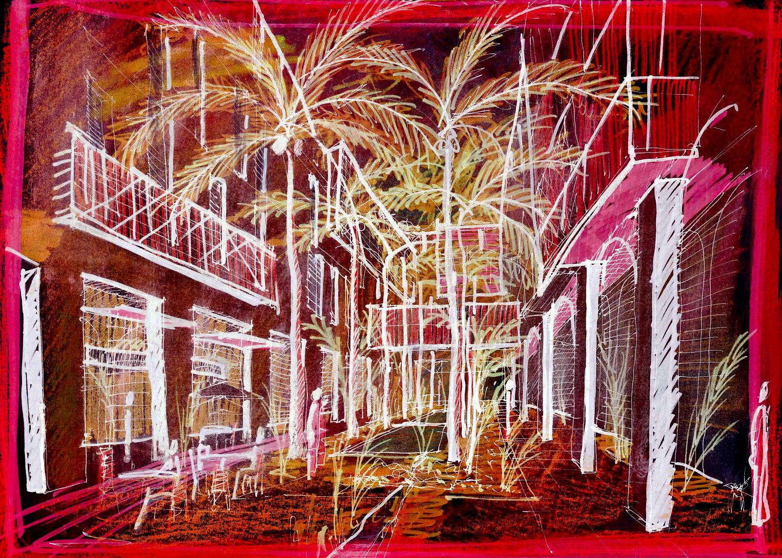 hotelový komplex   Basra - Irák   02