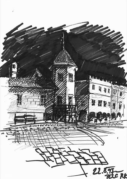 architektonická kresba   2