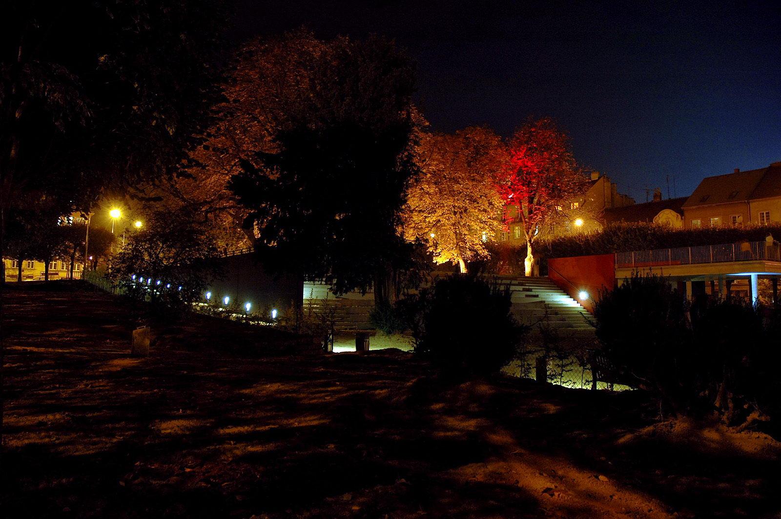 Park na Slovanském náměstí   Brno   11
