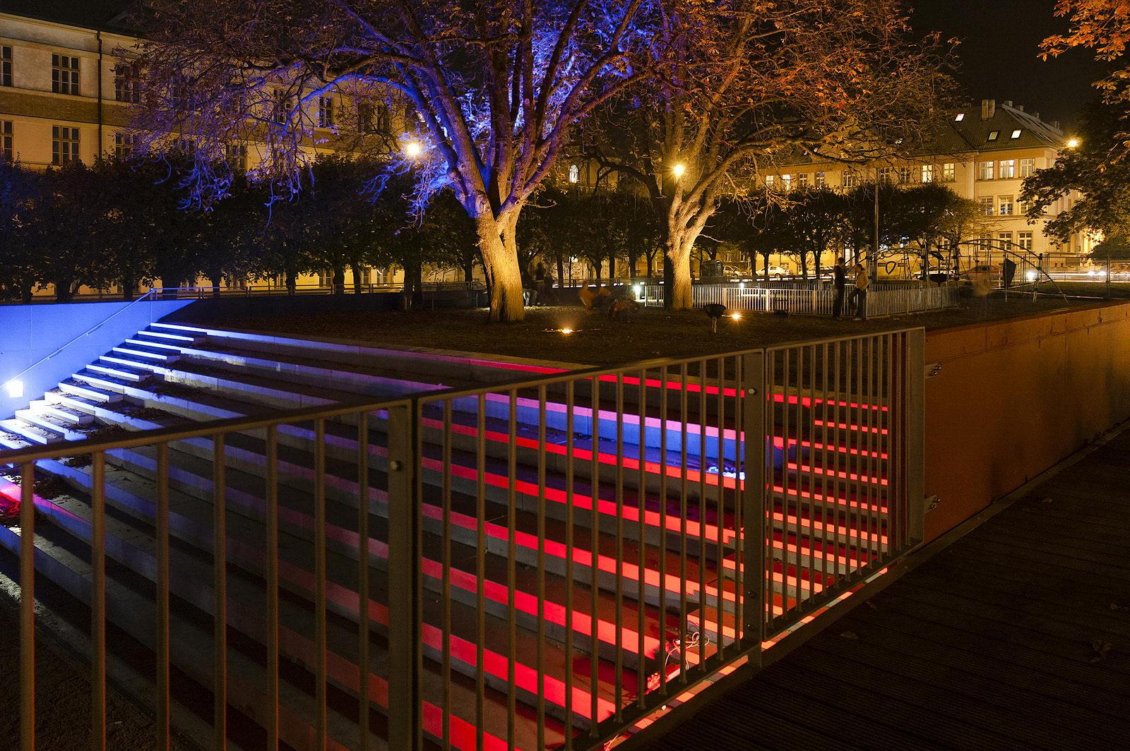 Park na Slovanském náměstí | Brno | 04