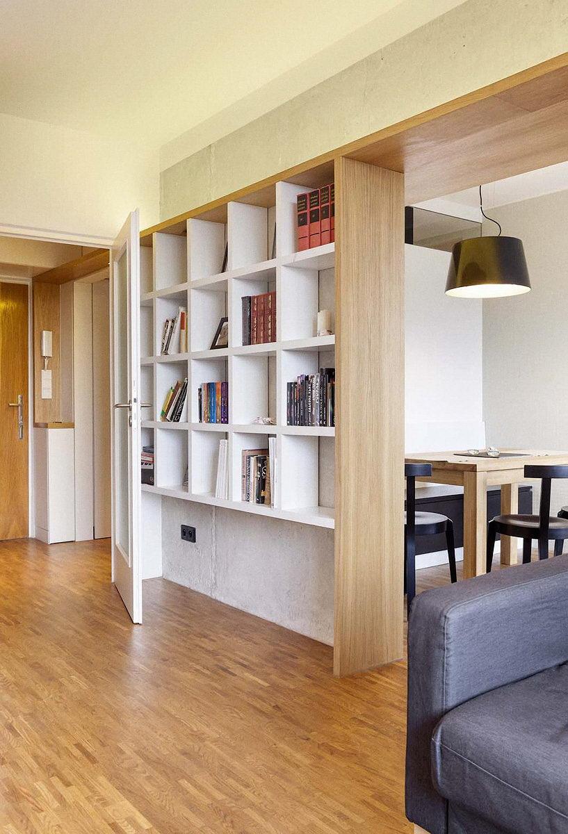rekonstrukce panelového bytu pana J.   Brno   06