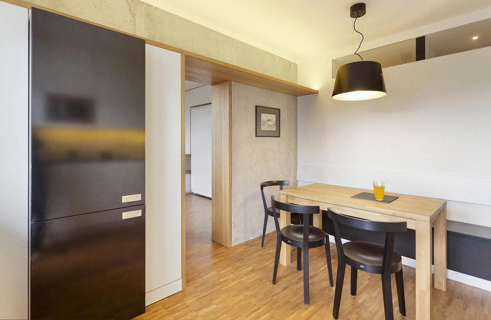 rekonstrukce panelového bytu pana J.   Brno   07