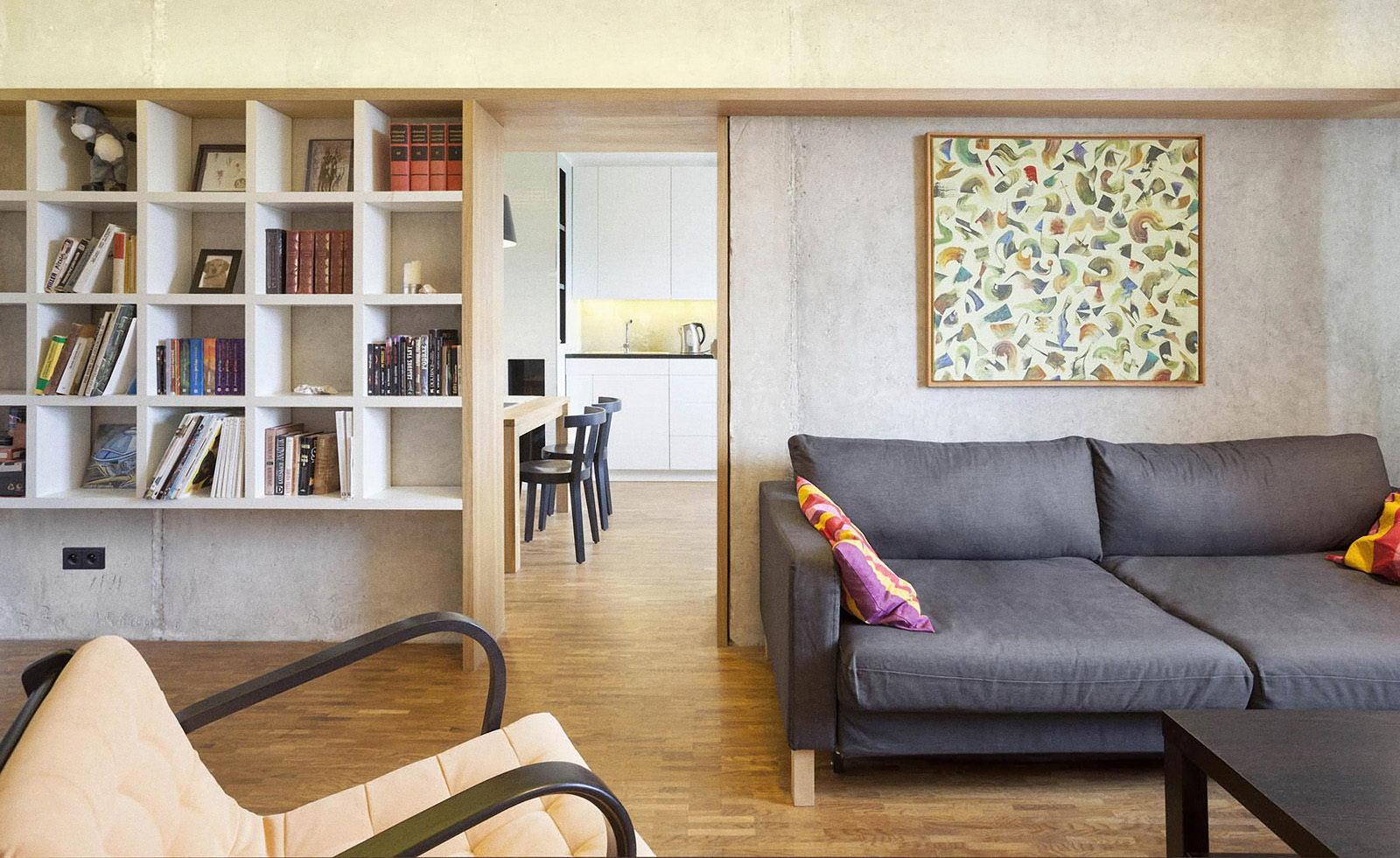 rekonstrukce panelového bytu pana J. | Brno | 01