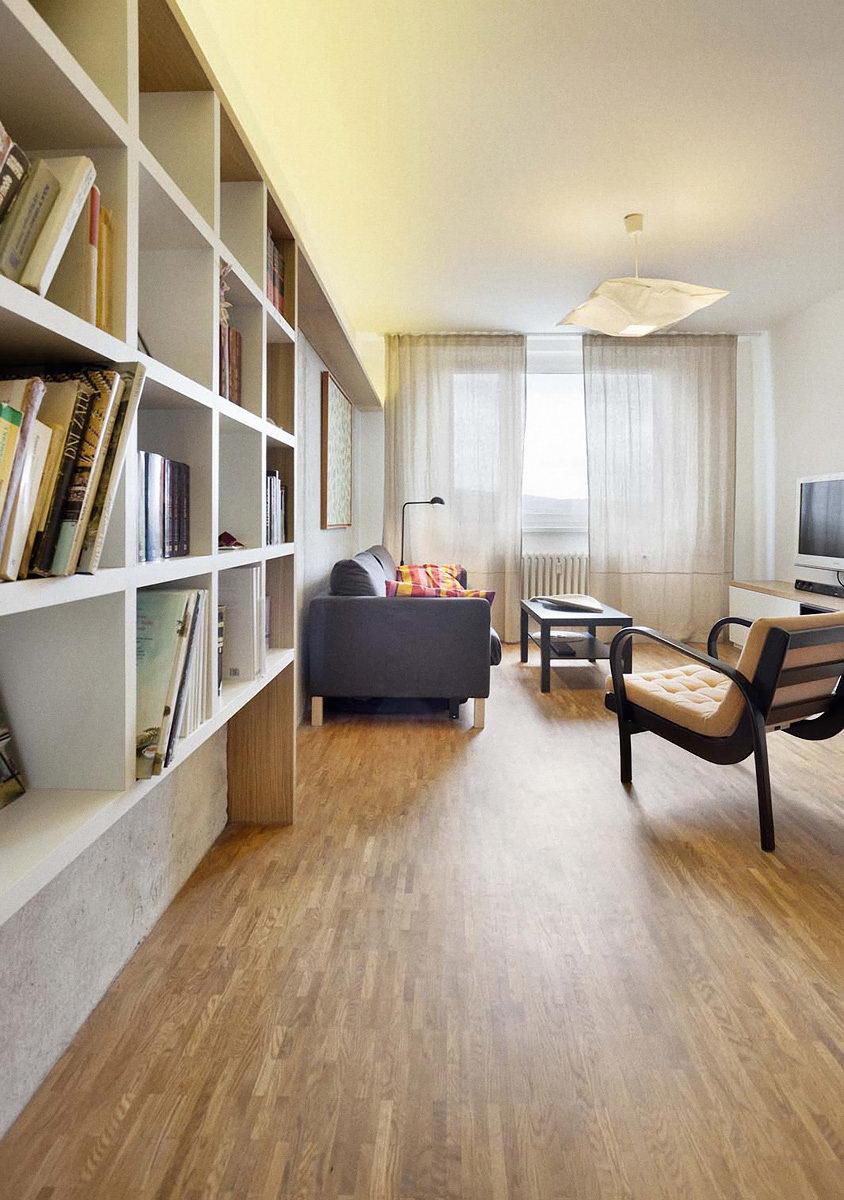 rekonstrukce panelového bytu pana J. | Brno | 04