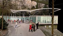 Punkevní jeskyně - vstupní objekt | Moravský kras