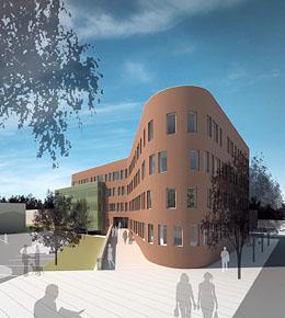 administrativní budova Povodí Moravy | Brno