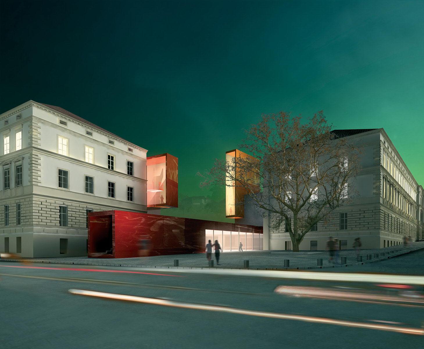 VUT   areál fakult architektury a výtvarných umění   Brno   01