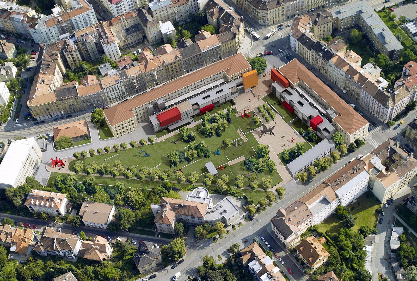 VUT | areál fakult architektury a výtvarných umění | Brno | 02