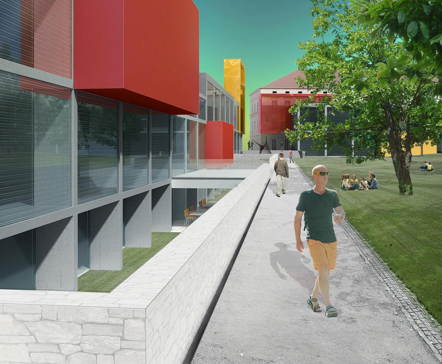 VUT   areál fakult architektury a výtvarných umění   Brno   03
