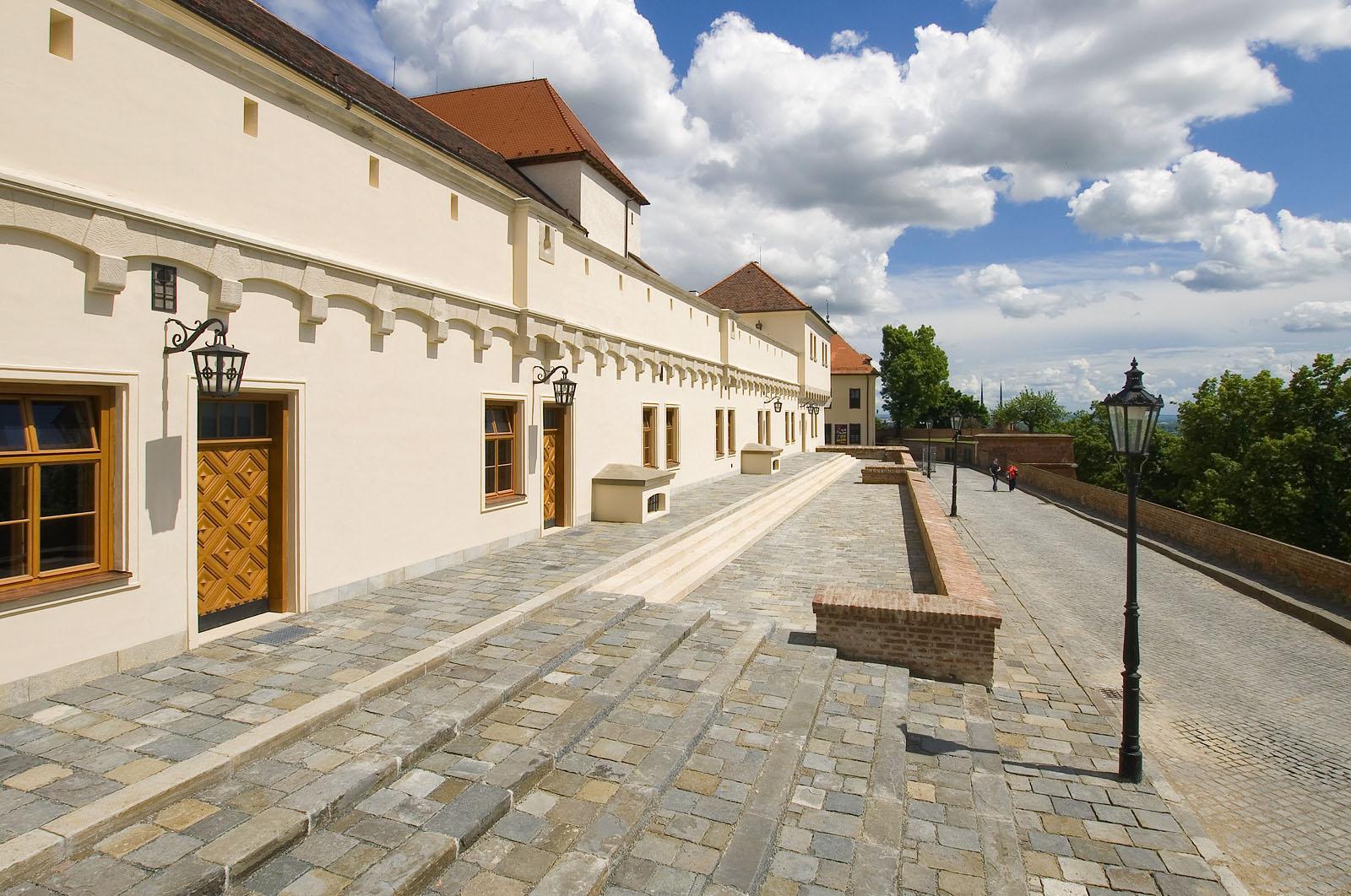 rekonstrukce hradu Špilberk | Brno | 01