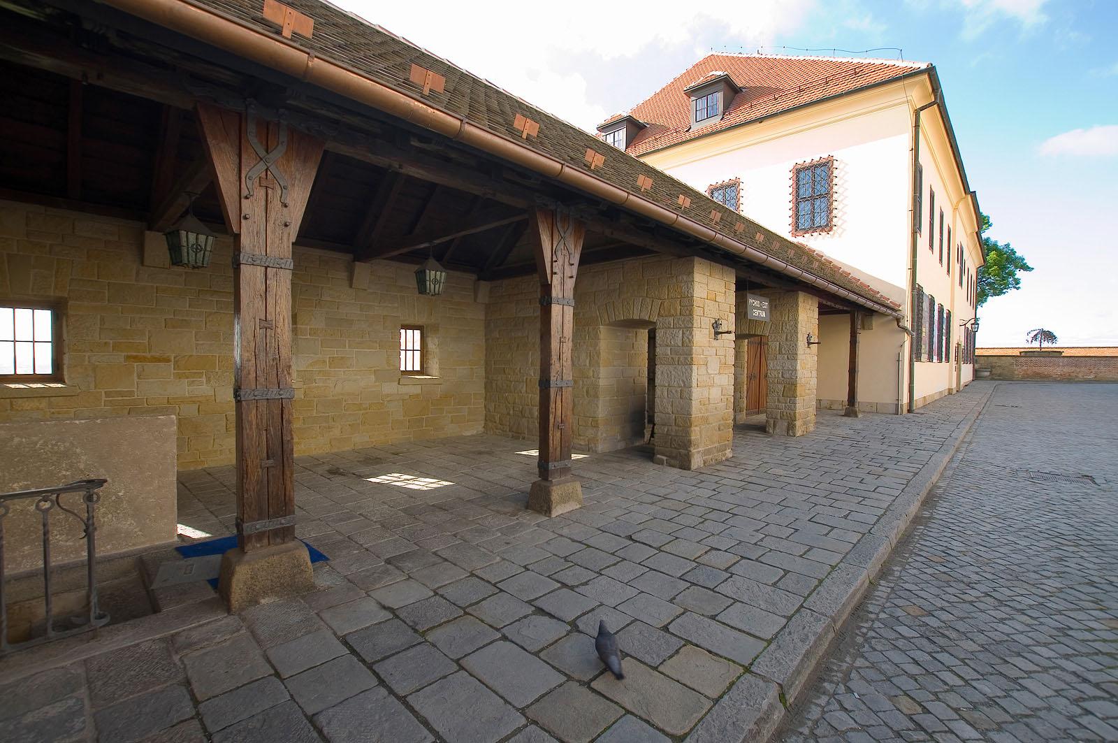 rekonstrukce hradu Špilberk | Brno | 03