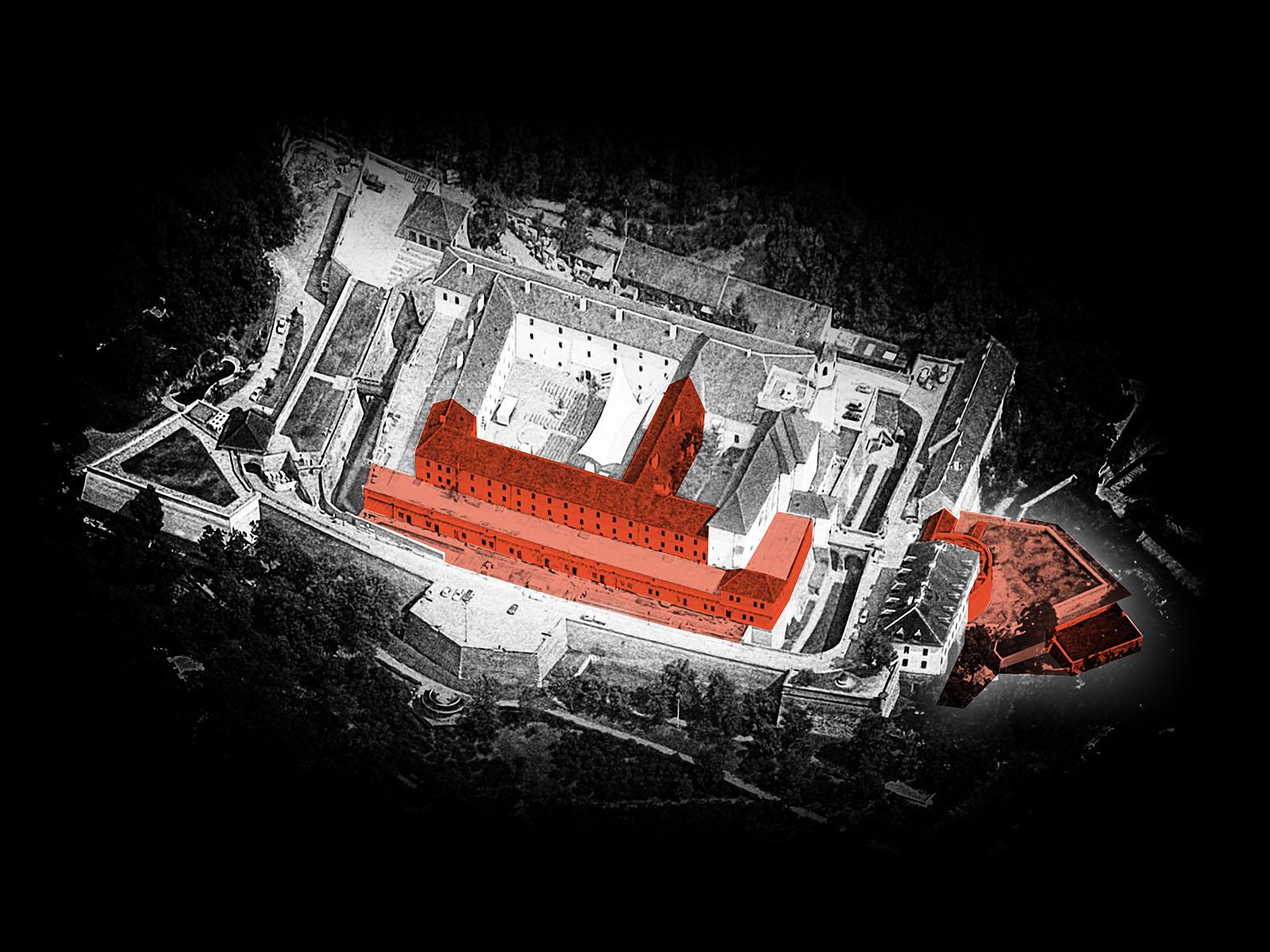 rekonstrukce hradu Špilberk | Brno | 09