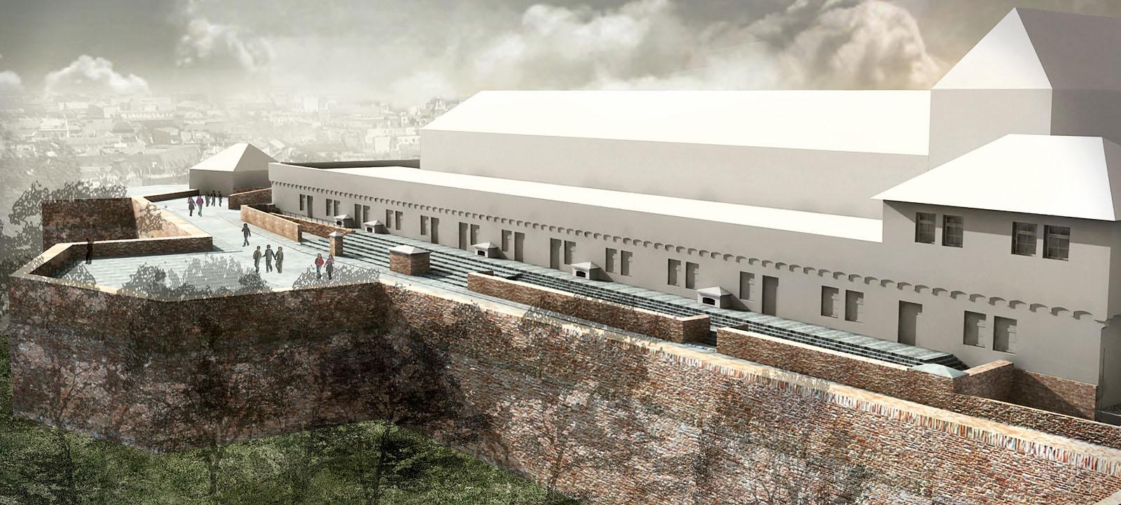 rekonstrukce hradu Špilberk | Brno | 11