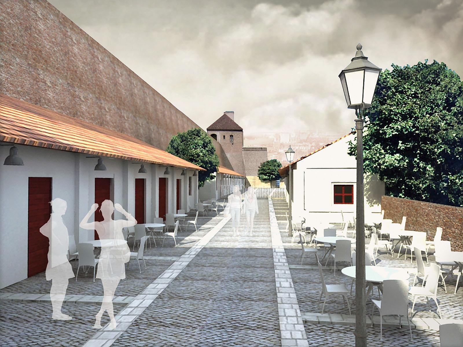 rekonstrukce hradu Špilberk | Brno | 16