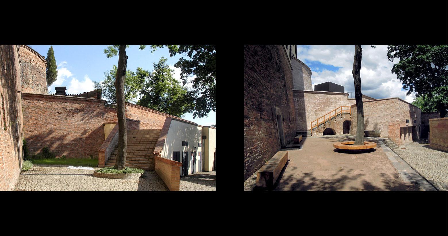 rekonstrukce hradu Špilberk | Brno | 14 | před realizací - po realizaci